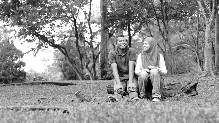 pre-wed tasik bukit cahaya sri alam