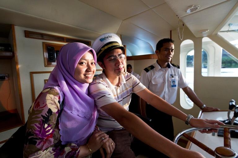 pre-wed cruise tasik putrajaya
